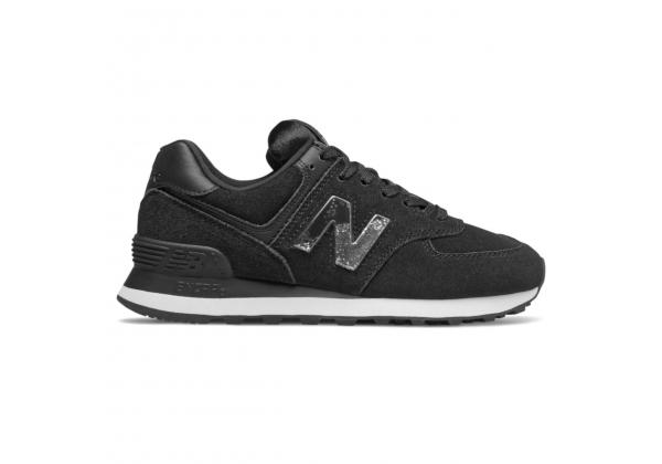 Кроссовки New Balance 574 черные с серым