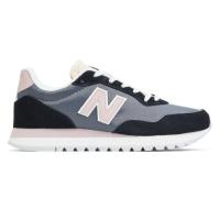 Кроссовки New Balance 574 Navy синие с розовым