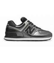 Кроссовки New Balance 574 Classic серебристые черные