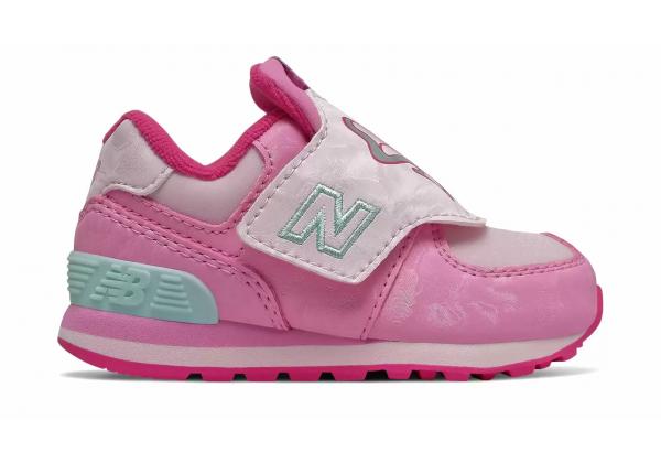 Детские кроссовки New Balance 574 розовые