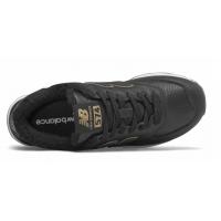 Кроссовки New Balance 574 Classic Черные кожаные