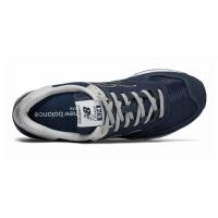 Кроссовки New Balance 574 Classic Темно-синие с серым