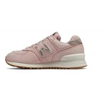 New Balance 574 Stone Wash Розовые