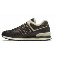 New Balance 574 коричневые кожаные