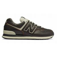 New Balance 574 Черные кожаные