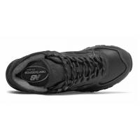 New Balance 574 Mid Черные кожаные