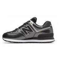 Кроссовки New Balance 574 Classic серебристо-черные