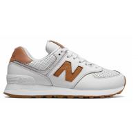 Кроссовки New Balance 574 Classic Бело-коричневые