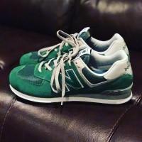 New Balance 574 Зелено-серые