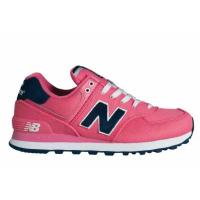 Кроссовки New Balance 574 Pique Polo женские розовые