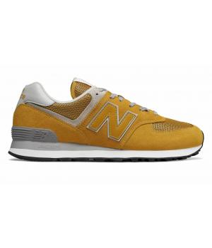 Кроссовки New Balance 574 Essential Pack женские желтые