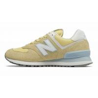 Кроссовки New Balance 574 женские желтые