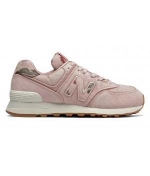 Кроссовки New Balance 574 Stone Wash женские розовые