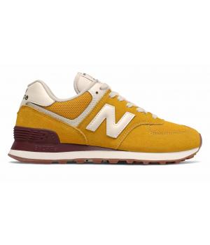 Кроссовки New Balance 574 essential pack yellow