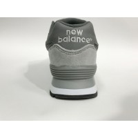 Кроссовки New Balance 574 Classic серые с зеленым