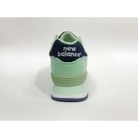 Кроссовки New Balance 574 Classic мятно-синие