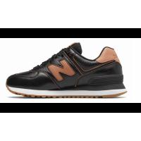 Кроссовки New Balance 574 мужские черно-коричневые