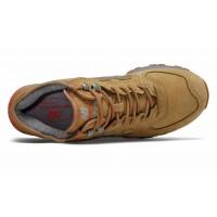 Кроссовки New Balance 574 мужские моно коричневые