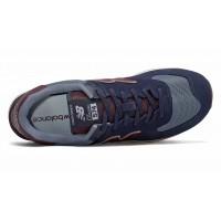 Кроссовки New Balance 574 мужские сине-бордовые