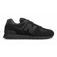 Кроссовки New Balance 574 мужские замшевые черные