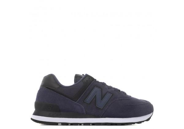 Кроссовки New Balance 574 мужские сине-черные