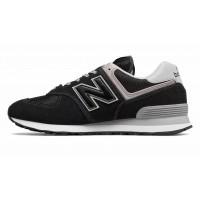 Кроссовки New Balance 574 мужские черно-серые