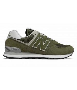 Кроссовки New Balance 574 мужские зелено-серые