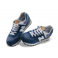 Кроссовки New Balance 574 Сине-белые