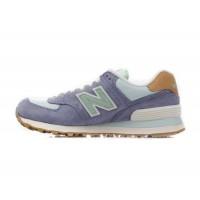 New Balance 574 Фиолетово-зеленые