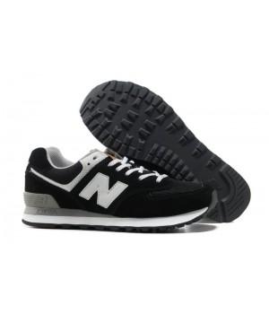 New Balance 574 Черно-белые