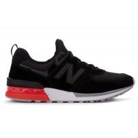 New Balance 574 Sport Черно-красно-белые