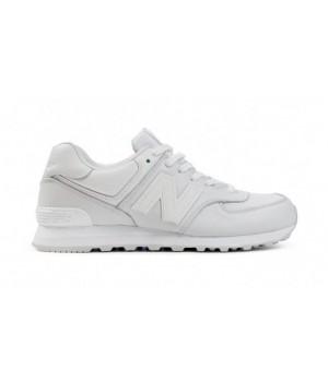 New Balance 574 Белые кожаные