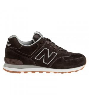 Кроссовки New Balance 574 Classic темно-коричневые