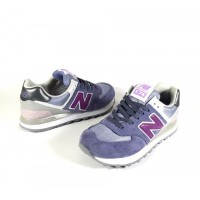 Кроссовки New Balance 574 лиловые