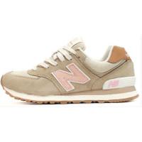 Кроссовки New Balance 574 Classic Бежево-розовые