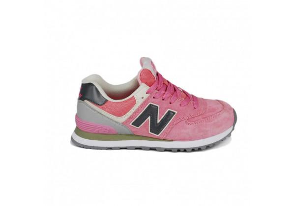 Кроссовки New Balance 574 Classic Розово-серые