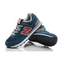 Кроссовки New Balance 574 Classic Сине-красные