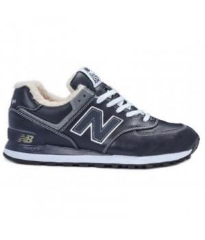 New Balance 574 Темно-синие
