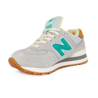 New Balance 574 Серо-зеленые